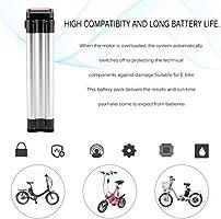 Batterie de v/élo /électrique de Pudincoco 36V 10AH 360W Batterie Lithium ION E-Bike avec Chargeur Haute Puissance Kit de Conversion de v/élo /électrique