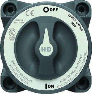 Blue Sea Systems HD-Series Heavy Duty On-Off Battery Switch