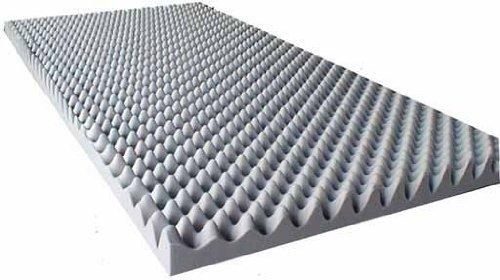 Akustikschaumstoff als Akustik Noppenschaum - Platte 100x200x5cm aus hochwertigem Ester-Schaumstoff