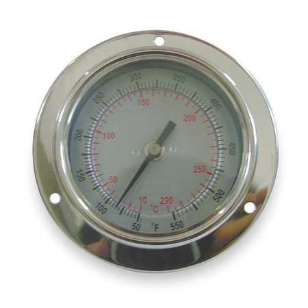 Bimetal Therm, 2-1/2 in Dial, 40to160F