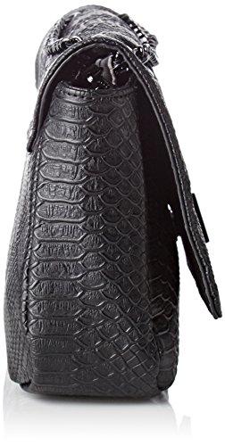 Morgan - 172-2serpo.a, Bolsos bandolera Mujer, Noir, 10x27x37 cm (W x H L)