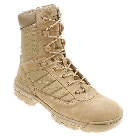 Bates Men's 8 Inch Uniform Boot, Desert, 12 M US - Footwear Combat Boots