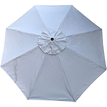 project patio 9 39 replacement canopy for 8 rib market patio umbrella sunbrella. Black Bedroom Furniture Sets. Home Design Ideas