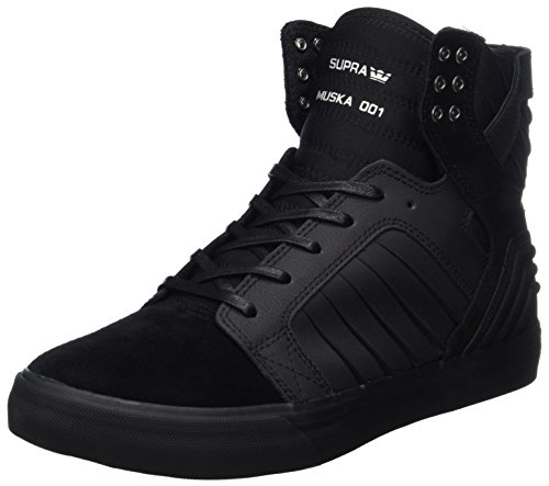 Mens Top Black Evo Shoes Supra Up Black Black High Suede Lace Skytop Sneakers YTxEwwFO