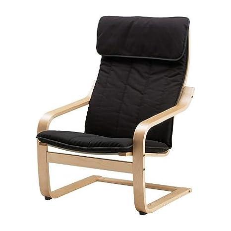 IKEA Poäng - Silla basculante (madera de abedul), color ...