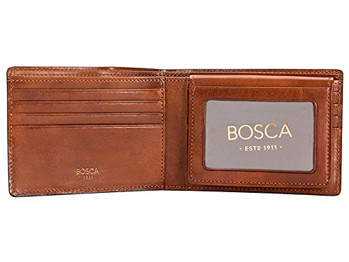 Bosca Men's Dolce Collection - Credit Card Wallet w/ ID P...