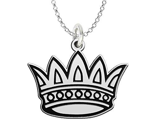 (Zeta Tau Alpha Sterling Silver Antique Logo Charm)