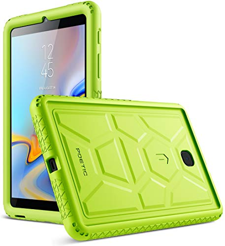 Verizon Green - Galaxy Tab A 8.0 2018 Case, Poetic TurtleSkin [Corner Protection][Bottom Air Vents] Protective Silicone Case for Samsung Galaxy Tab A 8.0 (2018) SM-T387 Verizon/Sprint/T-Mobile - Green
