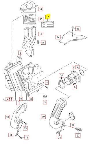 strainer AUDI Audi A4 Wagon S4 Cabrio quattro RS4 8E 8H 8H7 8E0129054