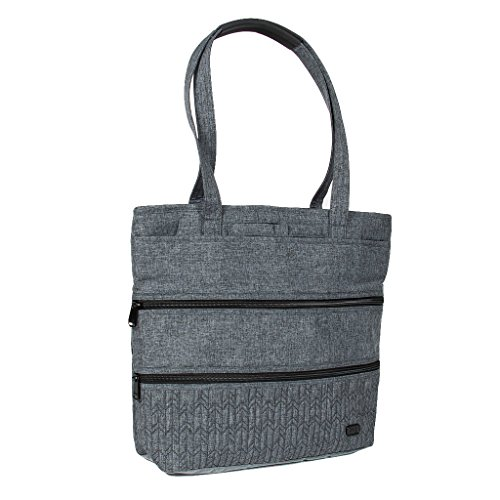 Lug Women's Taxi Everyday Tote, Heather Grey Travel, One Size (Best Everyday Tote Bag)