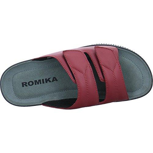 Rosso Salina Eu Romika Ciabatte 02 rot 400 Donna 41 qf6nAw6Cx