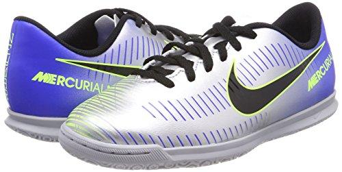 Nike Jr Mercurialx Vortex Iii Njr Ic- Argento / Blu 11.5c