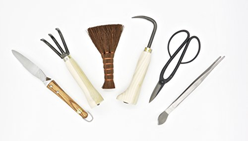 Bonsai tool kit 6 pcs by Kikuwa