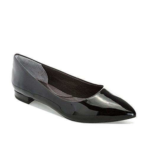 De V80589 Talla Cuero Rockport Ballet Mujer 36 Negro Color 5 Zapatillas qHB1dw1RE