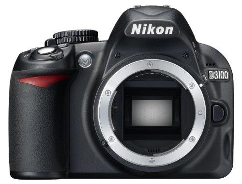 Nikon D3100 Digital SLR Camera Body (Kit Box) No Lens Included - International Version (No Warranty) (Camera Body 3100 Nikon)
