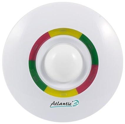 AtlanticS 7380R detector de techo volumétrica DMT, blanco