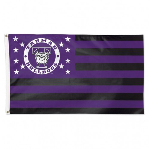 (WinCraft Truman State University Bulldogs NCAA American Flag 3 x 5 Foot)