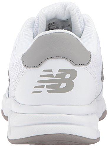 Scarpa Da Allenamento New Balance Uomo In Pelle 500v1 Bianco / Grigio