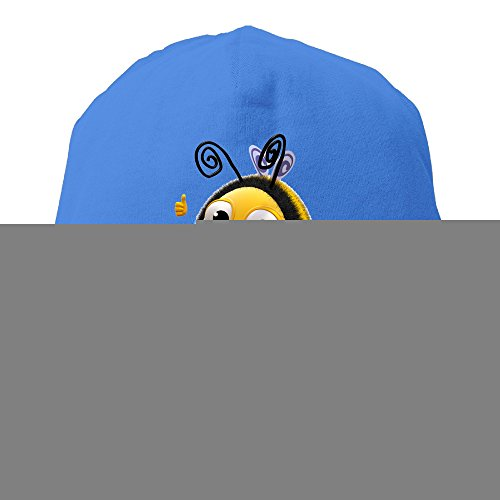 (YUVIA The Hive Men's&Women's Patch Beanie RowingRoyalBlue Caps For Autumn And Winter)