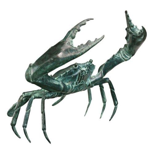 Large Bronze Crab Sculpture - Bronze Crab Sculpture
