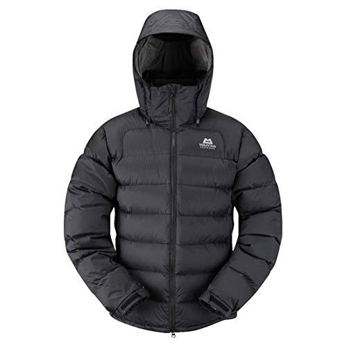 Mountain Equipment Men's Lightline Windproof Insulated Zip-Off Hood Down Jacket, Black, Large