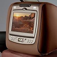 GM # 23309592 RSE - Front Head Restraint DVD System, Vecchio Vinyl with Brick Stitching GENUINE GM ACCESSORIES