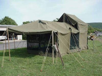Military-Army-Kitchen-Tent-12-X-18 & Military-Army Kitchen Tent 12u2032 X 18u2032 | Discount Tents Nova