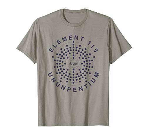 Area 51 Element 115 Ununpentium Electron Shell Alien UFO T-Shirt