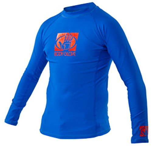 Body Glove Men's Basic Long Arm Rashguard, Royal, X-Large
