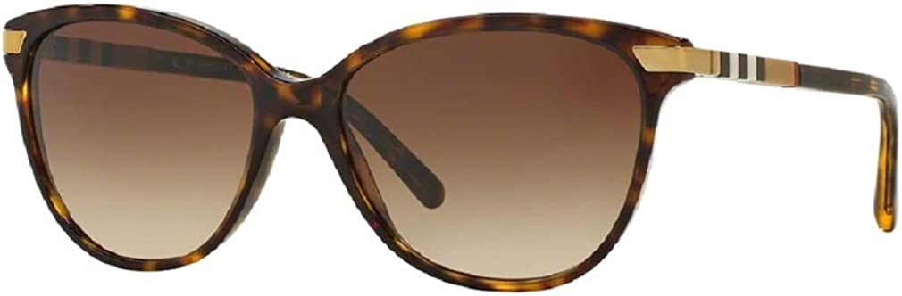 Burberry BE4216 Cat Eye Sunglasses For Women+FREE Complimentary Eyewear Care Kit