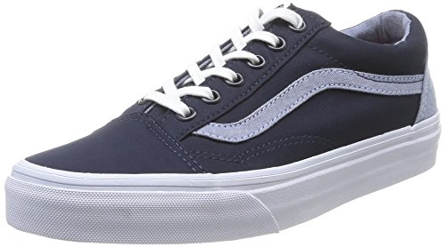 Vans U Old Skool - Zapatillas de Deporte de canvas Unisex Azul (Dress Blues/Captain's Blue)