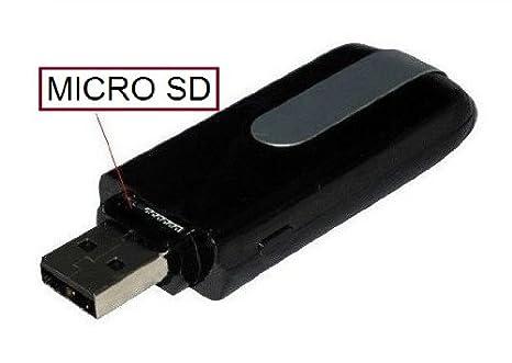 PENDRIVE USB CON CAMARA ESPIA Y DETECCION DE MOVIMIENTO