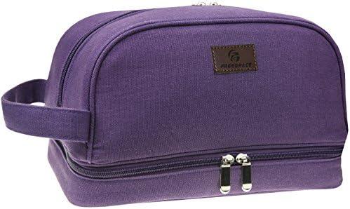 Canvas Toiletry Bag Essentials Organizer