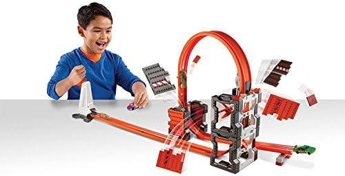 Hot Wheels DWW96 - Track Builder, kit para pista de demolición: Amazon.es: Juguetes y juegos