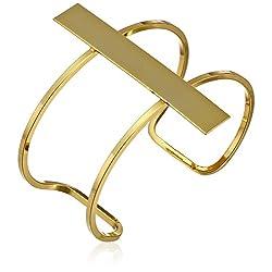"""a.v. max Wide Bar Cuff Bracelet, 2.5"""""""