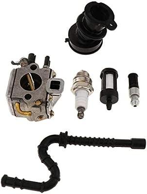 LOVIVER Kit de Carburadores de Aleación Filtro de Aire y ...