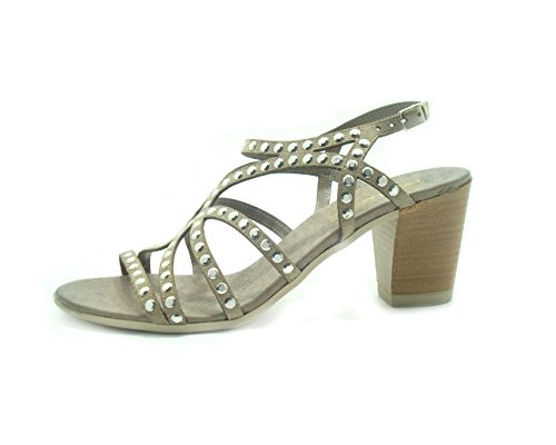 Grunland Sa0772-taille Chaussure Femme N ° 38 Taupe