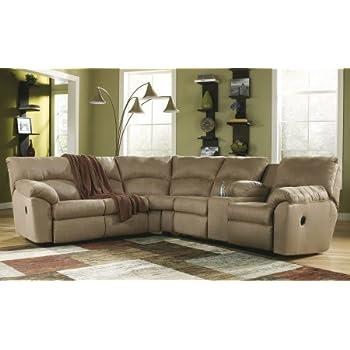 Amazoncom Ashley Amazon 617004849 Sectional Sofa with Left Arm