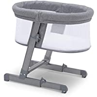Simmons Kids Oval City Sleeper Bassinet, Grey Tweed
