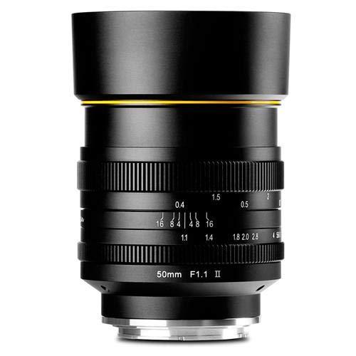 Kamlan 50mm F/1.1 II Micro Single Lens Head for Sony E by Kamlan