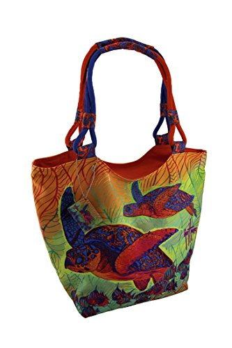 Zeckos, Borsa tote donna Multicolored