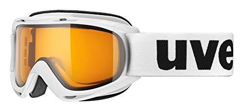 UVEX Skibrille slider, White/Lasergold Lite, One size, S5500241129