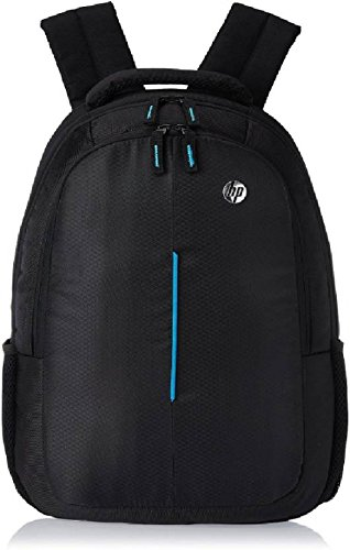 HP 15 inch Laptop Backpack (Black & Blue) - Buy HP 15 inch Laptop ...