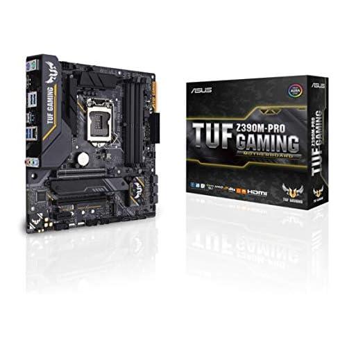 chollos oferta descuentos barato Asus Intel Z390 mATX Placa base gaming con OptiMem II Aura Sync RGB iluminación LED DDR4 4266 MHz 32Gbps M 2 Intel Optane memory ready y USB 3 1 Gen 2