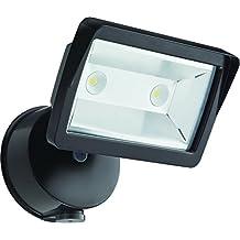 Lithonia OLFL 14 PE BZ M4 Security LED Dusk-to-Dawn Floodlight, Bronze