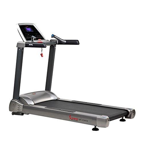 Sunny Health & Fitness SF-T1415 Treadmill, Gray