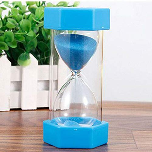 Lessonmart Household Hourglass Plastic Sand Clock Sand Unbreakable Timer Decorative for Gift