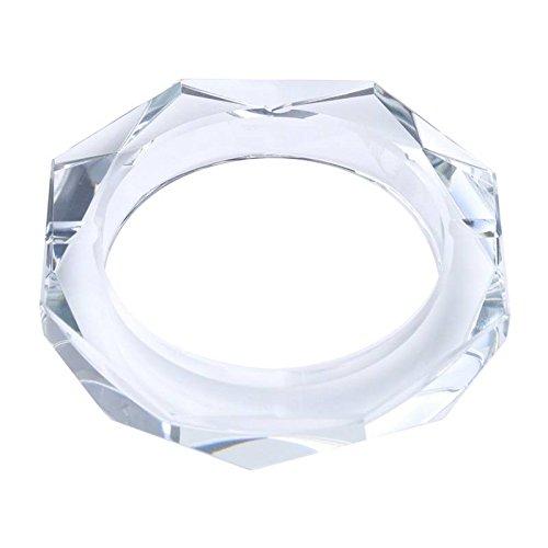 Cinzeiro De Cristal De Chumbo Octagonal 13x13x2,7cm Prestige Indef Única