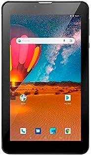 """Tablet Tela 7"""" Android 8.1 WiFi 16GB Multilaser M7 3G Plus NB325 Preto com Cartão SD 32GB Multi"""