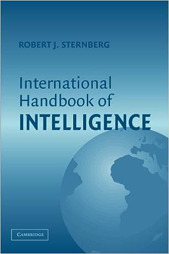 Book International Handbook of Intelligence